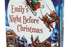 This personalized Night Before Christmas book from Chronicle is REALLY well done. And we're picky about that sort of thing.