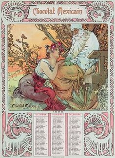 """Mucha, Alphonse Marie -- """"Old Age, 1897 """" -- High quality art prints, canvases…"""