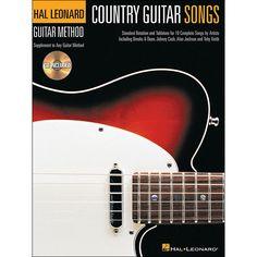 Hal Leonard Country Guitar Songs - Hal Leonard Guitar Method Supplemen