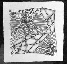 Zentangle pattern arukas