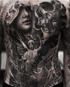 """3,081 Likes, 16 Comments - ⠀⠀⠀⠀⠀⠀⠀⠀TATTOO ARTISTS (@tattoo.artists) on Instagram: """"B&G Tattoo Artwork Artist IG: @joeyboontattooartist"""""""