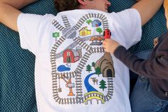 Camiseta de juego de tren Niños conductores por TheBlueBasketShop, $22.00