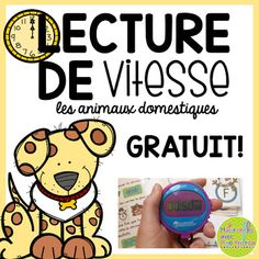 Here is a literacy centre that is lots of fun for your students, and a great way to show them that we get better at things with practice! And it's FREE! This pet-themed product is a FREE sample of my Lecture de vitesse resources. French Teaching Resources, Teaching French, Teaching Ideas, Alphabet Activities, Kindergarten Activities, Teachers Corner, Teacher Pay Teachers, French Alphabet, Core French
