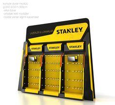 stanley on Behance Retail Display Shelves, Pos Display, Bookshelf Design, Wall Shelves Design, Exhibition Booth Design, Exhibition Stands, Exhibit Design, Promotional Stands, Print Advertising