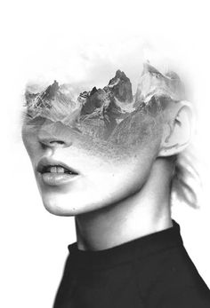 Double exposure portraits by Spanish-based artist Antonio Mora (a.k.a. Mylovt) blend human and nature worlds into surreal hybrid artworks. Mora works with images he'd found browsing through online databases, magazines and blogs, and then fuses them together using skillful photo manipulat