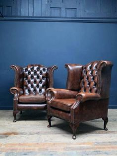 A Pair of Chesterfield armchairs Antique Chairs & Armchairs Drew Pritchard vinta., A Pair of Chesterfield armchai.