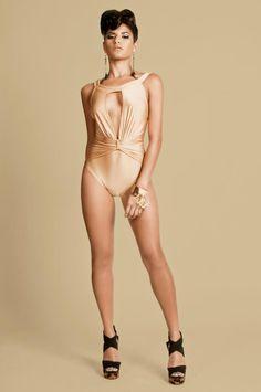 'Versachic' Keva J Nude Bikini