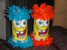 Spongebob Birthday Party Mini Pinata Goody Bag Favor
