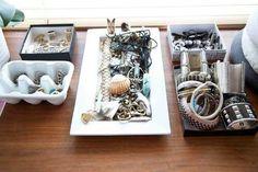 Egg Tray jewelry storage