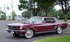 '66 Ford Mustang in Vintage Burgundy