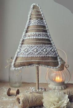 Новогодние вещицы из джута и мешковины: 35 замечательных идей - Ярмарка Мастеров - ручная работа, handmade