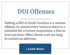 http://www.charlestoncriminallawyer.org/ can help you fight DUI charges in Charleston SC