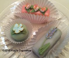 Petit fours by Kay's Cupcakes