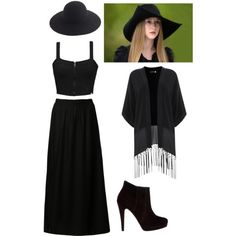 Zoe Benson / American Horror Story (Coven) Inspired Outfit by inspired-outfit on Polyvore featuring moda, Element, Jacqueline De Yong, Mint Velvet, Bonbons, J.Crew and Coven