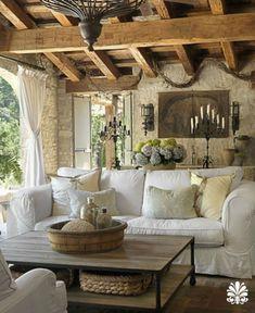 39 Awesome Rustic Farmhouse Living Room Decor Ideas