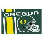 Ncaa University of Oregon Green 1 ft. 7 in. x 2 ft. 6 in. Accent Rug