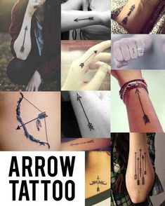 Arrow | Top Tattoo Trends Of 2014