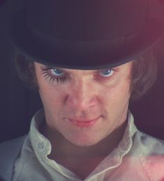 A Clockwork Orange.. A friend suggested this movie to me.. I really want to watch it soon.