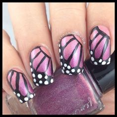 Polishes: Femme Fatale Mr Pinchy and Ruby Hare, Simply Spoiled Beauty black and white nail art pens