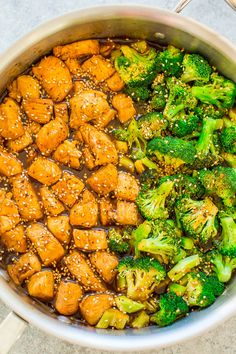 15-Minute Skillet Sesame Chicken with Broccoli – HEALTHIER sesame chicken that isn't breaded or fried!! You won't miss the fat or calories in this FAST and EASY version that's loaded with Asian-inspired flavors! You can happily skip takeout now!! Rather than calling for takeout, make this flavorful and much healthier sesame chicken at home in …