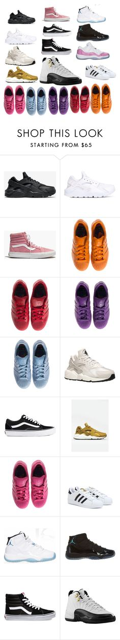 """""""Sneaker Wishlist"""" by catrina-currie ❤ liked on Polyvore featuring NIKE, Madewell, adidas, Vans and Retrò"""