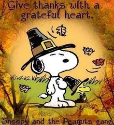 "Snoopy and the Peanuts Gang: ""Give Thanks with a Grateful Heart. Charlie Brown Thanksgiving, Peanuts Thanksgiving, Thanksgiving Pictures, Thanksgiving Wallpaper, Thanksgiving Greetings, Thanksgiving Quotes, Charlie Brown Christmas, Charlie Brown And Snoopy, Thanksgiving Cartoon"