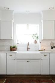 Image Result For White Subway Tile Around Kitchen Window