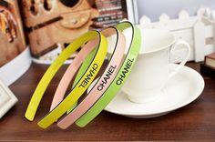 Fashion colorful hair band headband