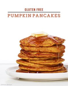 pumpkin pancakes are perfect for fall breakfast