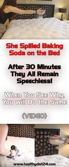 Watch What Baking Soda Can Do To Your Mattress, It Will Leave You Speechless – Healthy Tips and Beauty Body Fluid, Baking Soda Uses, How To Clean Carpet, Clean House, Home Remedies, Health Remedies, Natural Remedies, Cleaning Hacks, Cleaning Products