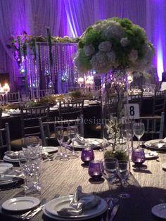 Ana and Lui's wedding at La Prima Vera Woodbridge, Ontario October 2013 Theme: Rememberin Twilight Colours: White, Platnium, silver a tocuh of purple and apple green