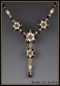 http://randomcreative.hubpages.com/hub/Beaded-Beadwoven-Flowers-Jewelry-Projects-Components-Patterns-and-Tutorials