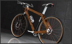 Elegant Lumber Bicycles - The BKR Ecoframe Bike Takes Advantage of Timber's Forgiving Properties (GALLERY)