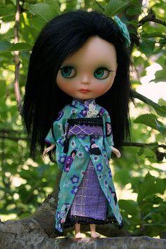 Kokeshi Doll Custom #199 ~ Outfit   by sglahe - Kaleidoscope Kustoms