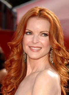 Marcia Cross classic ginger auburn ~~ 21 most famous celebrity redheads to inspire your next hair col