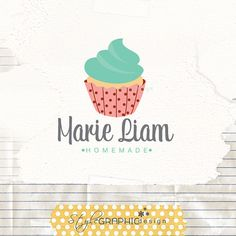 Bakers logo cupcake logo design design by StyleGraphicDesign