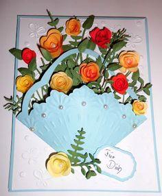 Meine kleine Bastelwelt: Blumenkörbchen