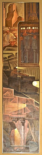 MIning Design Exchange, Charles Comfort by colros, via Flickr