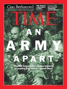 TIME Magazine Cover: An Army Apart - Nov. 21, 2011