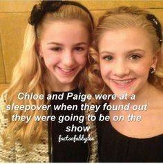 Awwwwww thats sweet Dance Moms Quotes, Dance Moms Funny, Dance Moms Facts, Dance Moms Dancers, Dance Moms Chloe, Dance Moms Girls, Mom Characters, Dance Moms Comics, Chloe And Paige