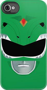 Green Ranger iPhone Case (http://www.redbubble.com/people/gallantdesigns/works/9122240-green-ranger)