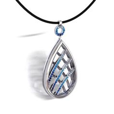 2012 JCK Platinum Innovation Awards:  In the Platinum Entry Fashion category, this design by Jacob Wright features White and Blue Sapphires, Aquamarine and Ice Blue Topaz.  Voting for the JCK Platinum Innovation Awards begins June 1! See our FB page for voting instructions. Please show your Stuller support! #AffordableSparkle