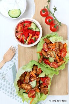 Ham and sesame rolls - Clean Eating Snacks Keto, Quick Recipes, Healthy Recipes, Healthy Snacks, Healty Dinner, Good Food, Yummy Food, Tzatziki, International Recipes