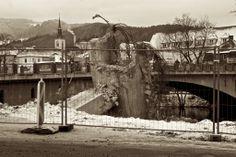 Bruck an der Mur Abriss der Hoch Brücke Austria, Mount Rushmore, Mountains, Nature, Travel, Abandoned Cities, City, Naturaleza, Viajes