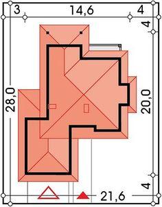 Projekt domu Kastylia A 2-garaże 161,40 m² - koszt budowy - EXTRADOM