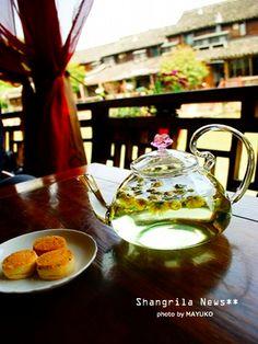 菊花+クコの実+プーアルのお茶