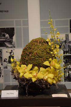 Floral arrangement Redefining Design 2013. Seneca College, School of Fashion