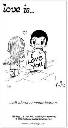 Love is. Number one website for Love Is. Funny Love is. pictures and love quotes. Love is. comic strips created by Kim Casali, conceived by and drawn by Bill Asprey. Everyday with a new Love Is. What Is Love, I Love You, Just For You, My Love, Love Is Cartoon, Love Is Comic, Love My Husband, Love Notes, Cute Love