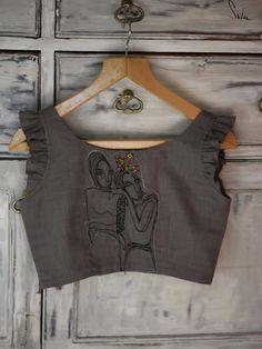 With Pride (Blouse) Cotton Saree Blouse Designs, Fancy Blouse Designs, Blouse Patterns, Stylish Blouse Design, Kurta Designs Women, Choices, Blouse Models, Minute, Adventure