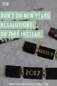 Looking for a new New Year's Eve tradition? Skip the resolutions and do this instead - The Confused Millennial